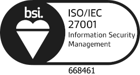 BSI Kite Mark for UX Forms ISO 27001 certificate 668461